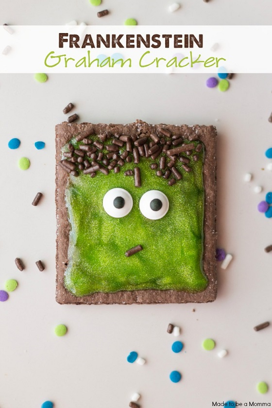 frankenstein-graham-crackers-halloween-treat