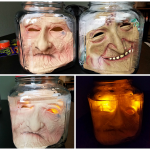 How to Make Creepy Heads in Jars