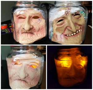 image about Halloween Head in a Jar Printable identify How towards Deliver Creepy Heads within Jars - Cunning Early morning