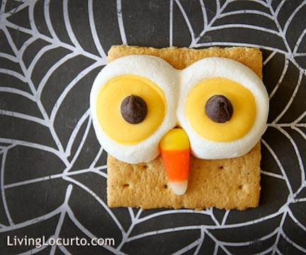 graham-cracker-halloween-owl-treats