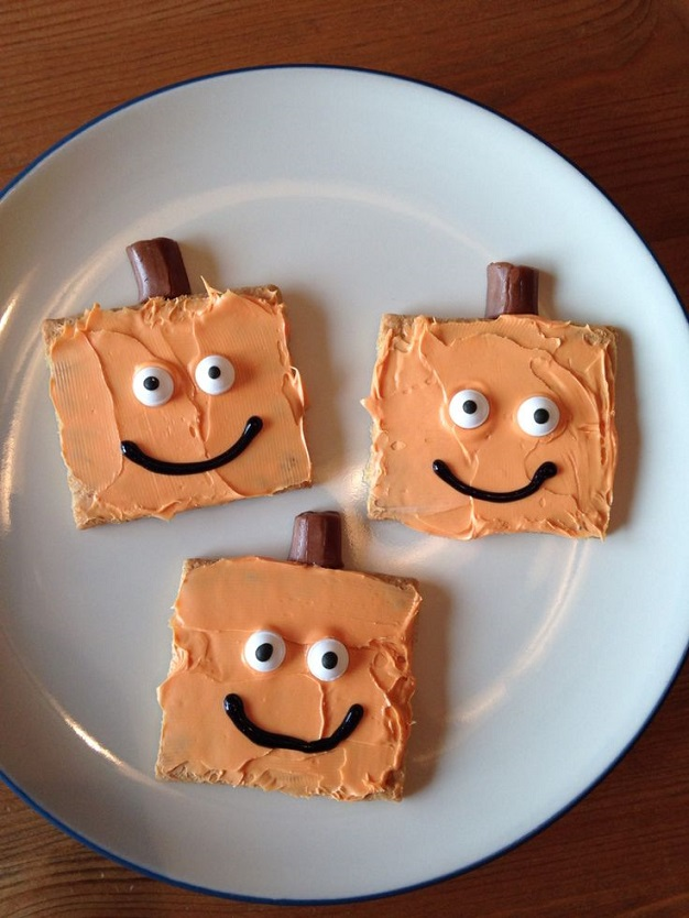 graham-cracker-pumpkin-halloween-treats