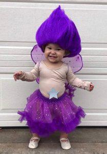 DIY Troll Doll Costume for Kids