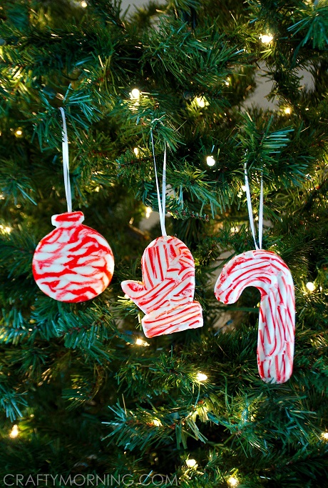 candy cane ornaments - Candy Christmas Ornaments