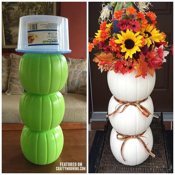 plastic-pumpkin-bucket-craft