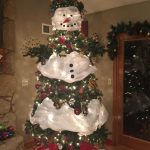 How to Make a Snowman Christmas Tree