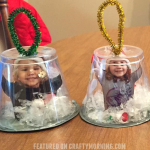 Snow Globe Cup Ornaments