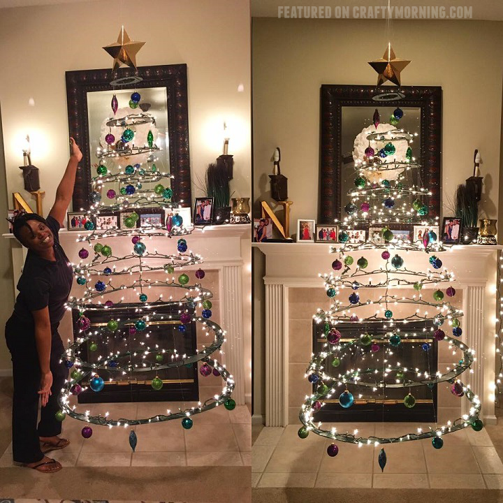 diy-cardboard-floating-christmas-tree