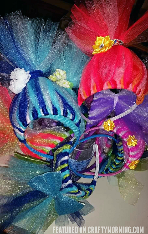 diy-troll-tulle-headbands-craft