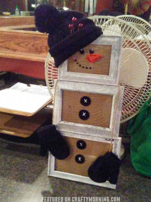 picture-frame-snowman-craft