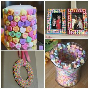 Conversation Candy Heart Craft Ideas
