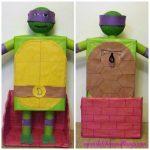 Ninja Turtle Valentine's Day Box