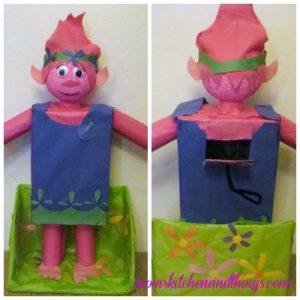 Trolls Poppy Valentine's Day Box