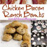 Chicken Bacon Ranch Bombs