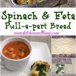 Spinach & Feta Pull-a-part Bread