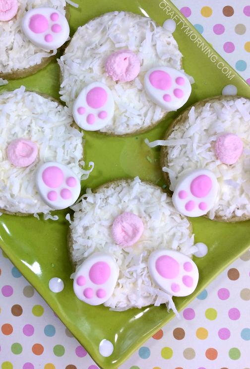 Bunny butt cookies (1)