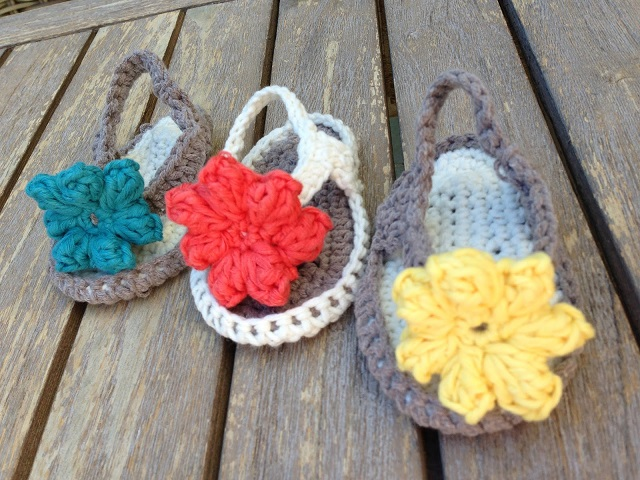 Free Crochet Baby Sandals Patterns - Crafty Morning