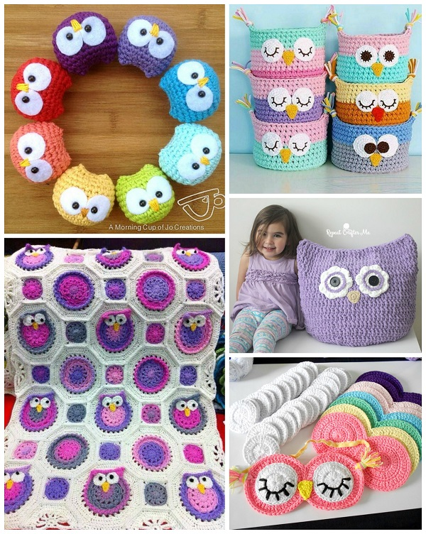 The Best Crochet Owl Patterns Crafty Morning