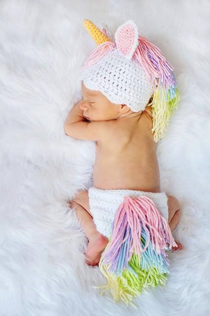 Crochet Baby Unicorn Pattern : Most Popular Crochet Unicorn Patterns - Crafty Morning