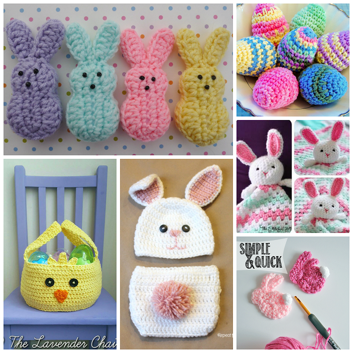 Free Easter Crochet Patterns To Make Crafty Morning