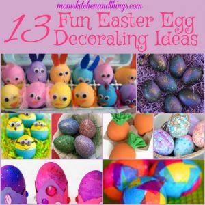 13 Fun Easter Egg Decoration Ideas