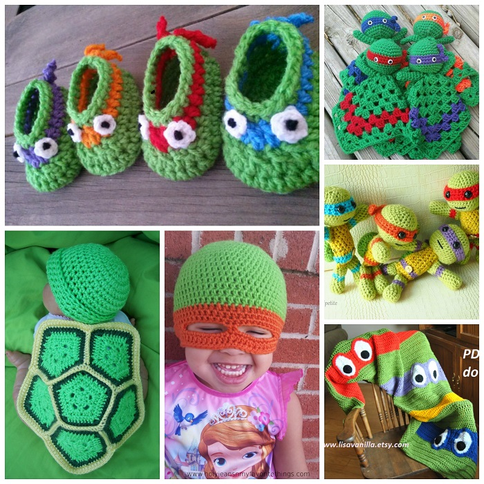 The Cutest Ninja Turtle Crochet Patterns Crafty Morning