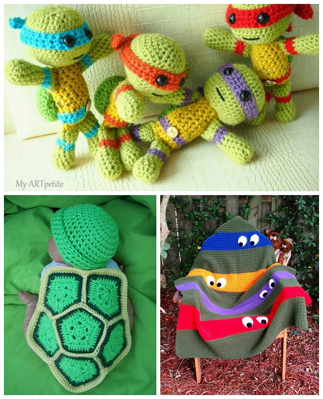 ninja-turtle-crochet-patterns