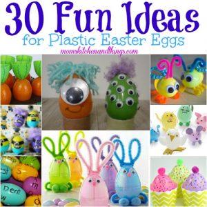 30 Fun Ideas for Plastic Easter Eggs