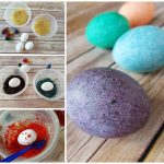 Rice Shake Easter Egg Decorating