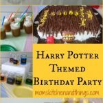 Harry Potter Themed Birthday Party