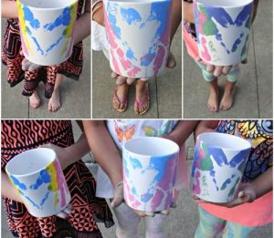 Mother's Day Handprint Mug Craft
