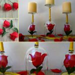 DIY Beauty and the Beast Candle Holders