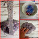 Red, White, & Blue Glitter Slime