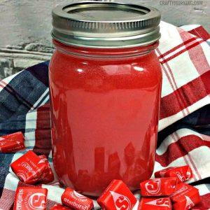 Red Starburst Moonshine Recipe