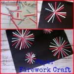 Paper Firework Craft