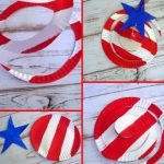 Patriotic Paper Plate Wind Catcher
