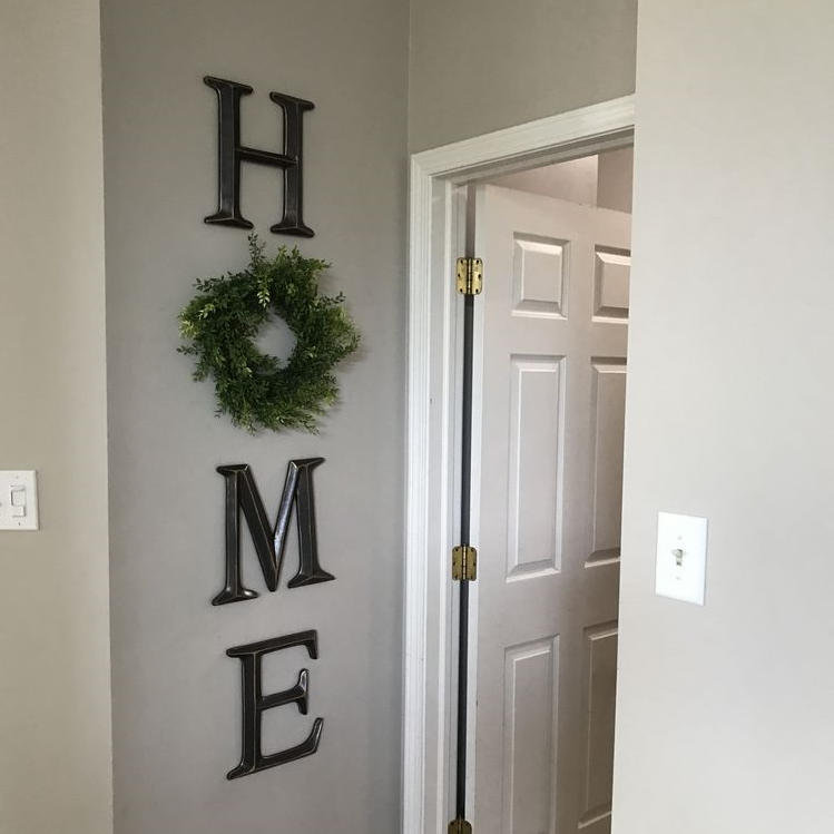 DIY Home Wreath Wall Decor