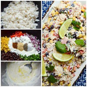 Santa Fe Rice Salad Recipe