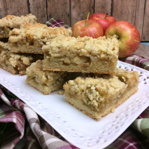 Apple Crumble Bars Recipe