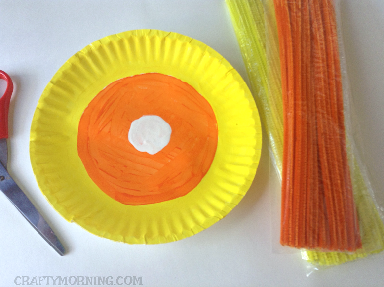 Crafts With White Paper Plates