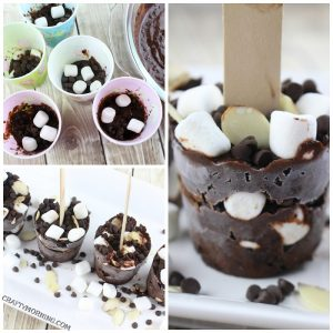 Rocky Road Dixie Pops
