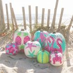 Coastal Pumpkin Decorating