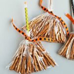 Pretzel Witch Broom Stick Treats