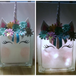 DIY Unicorn Block Light