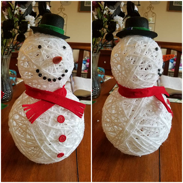 · How to Make It: Trace the snowmen pattern pieces from the pattern onto tracing paper and cut out the shapes. Referring to the photo, trace the shapes on assorted colors of felt Author: Better Homes & Gardens.