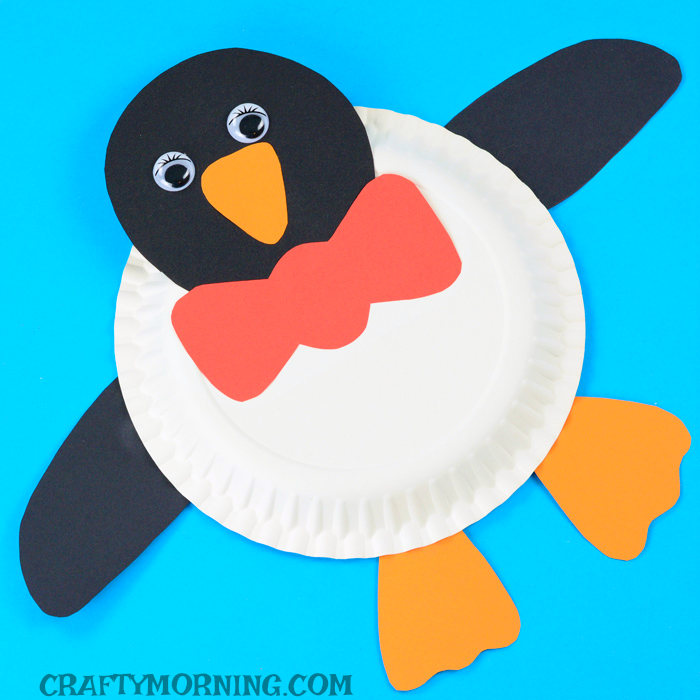 Paper Plate Penguin Craft  sc 1 st  Crafty Morning & Paper Plate Penguin Craft - Crafty Morning