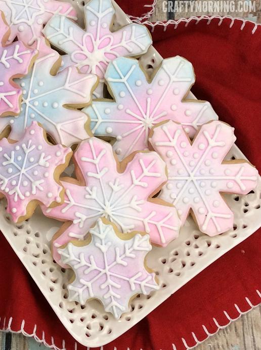 Snowflake Sugar Cookies Crafty Morning