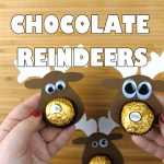 Ferrero Rocher Chocolate Reindeer Treats