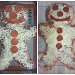 Gingerbread Man Pizza