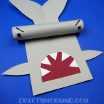 Cardboard Tube Hammerhead Shark Craft