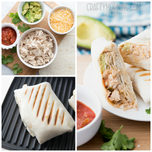 Chicken Avocado Burrito Recipe